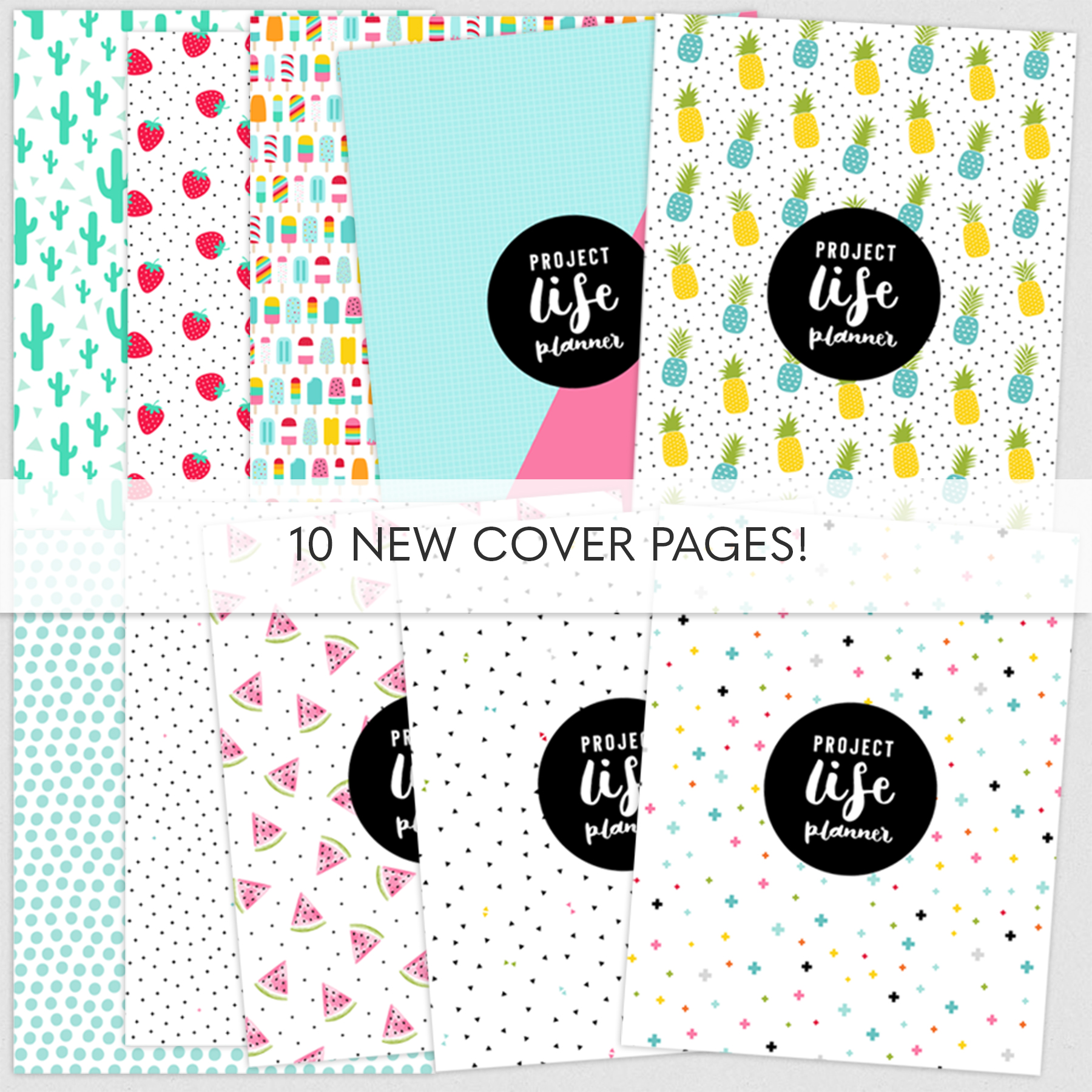 Project Life Layout Planner Pages By Miss Tiina