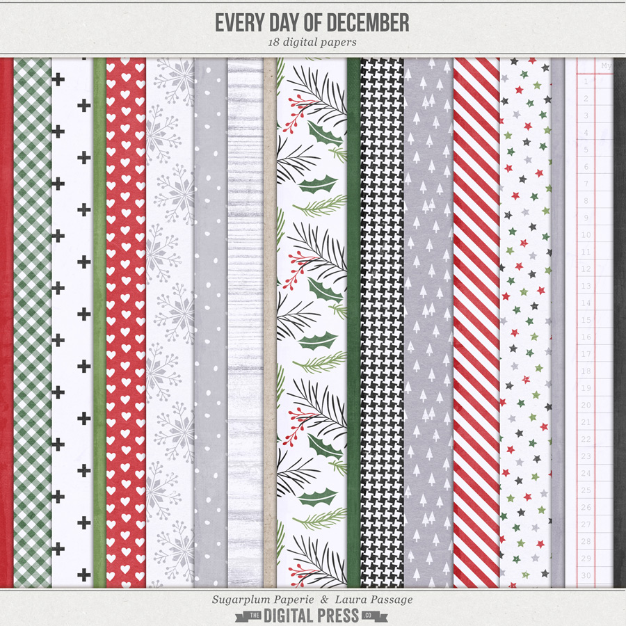 Every Day of December | Paper