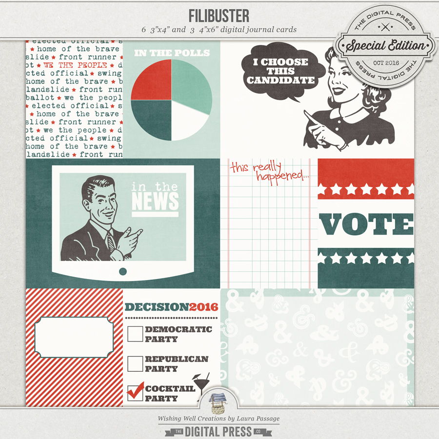 Filibuster | Journal Cards