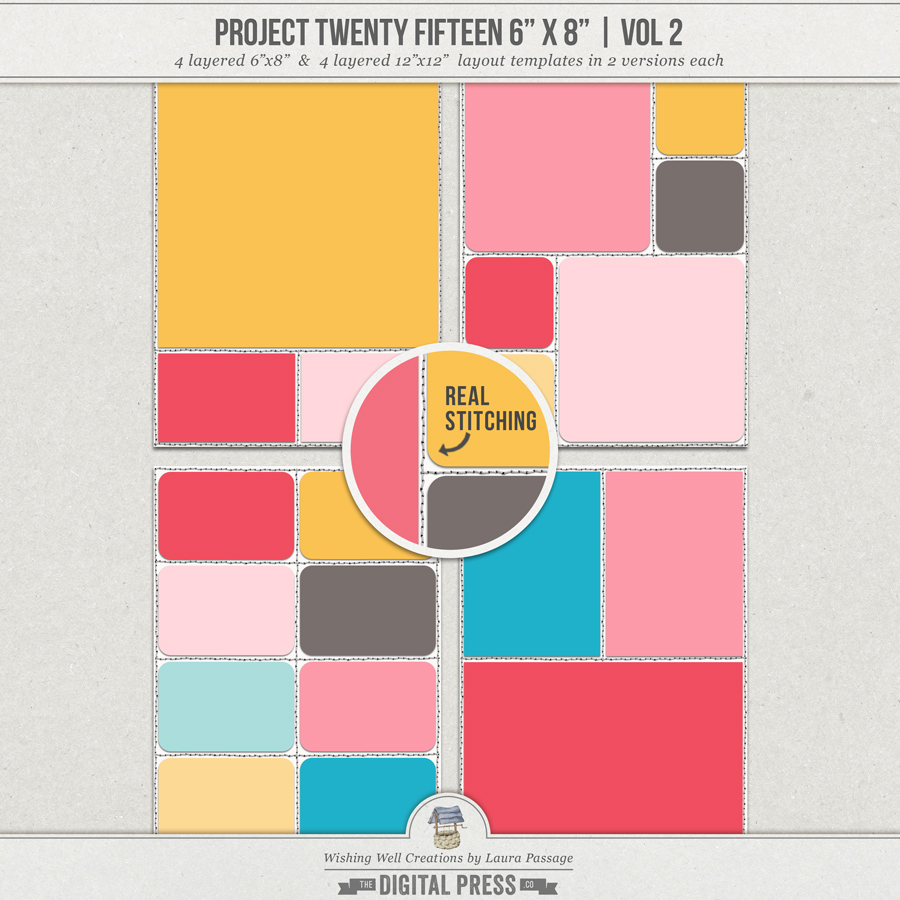 "Project Twenty Fifteen 6""x8"" (Vol 2) 