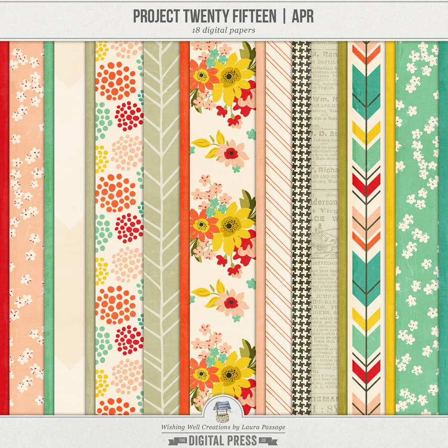 Project Twenty Fifteen | April Paper