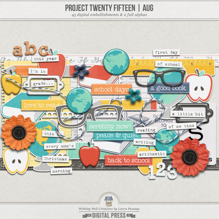 Project Twenty Fifteen | August Elements
