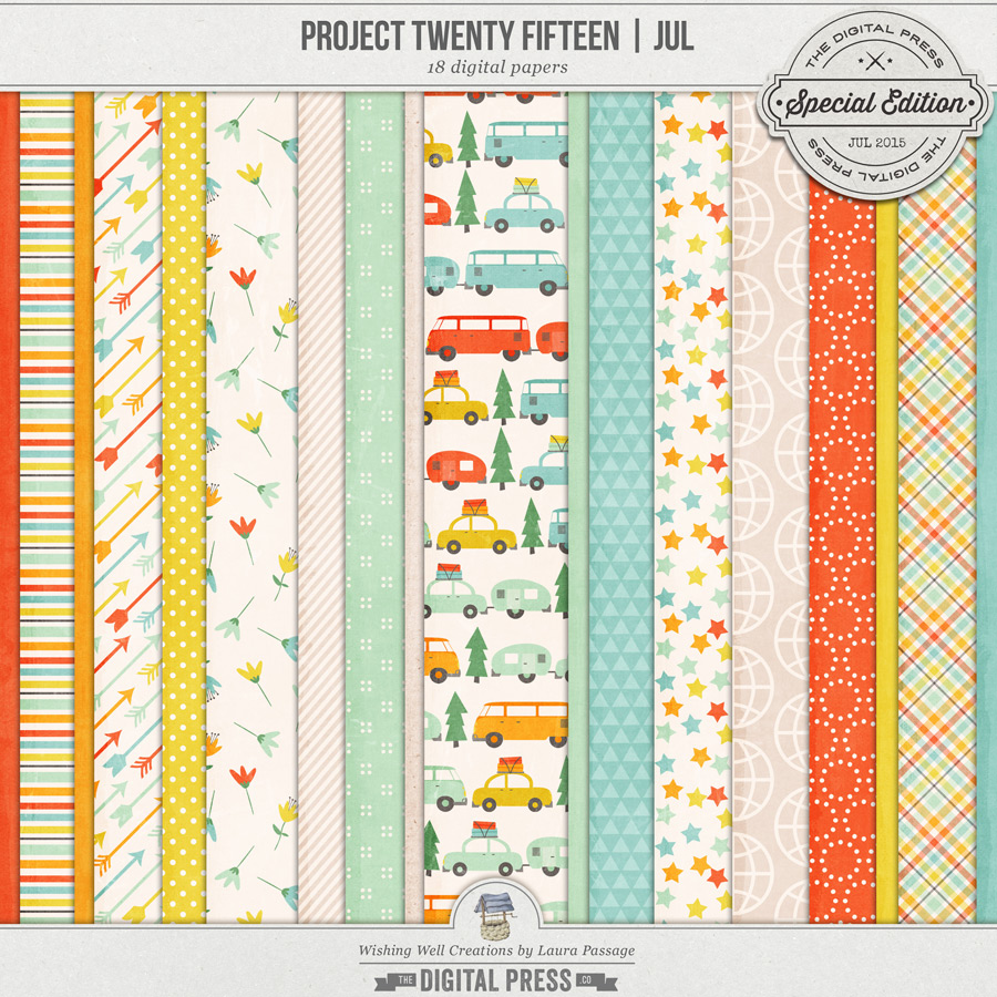 Project Twenty Fifteen | July Paper