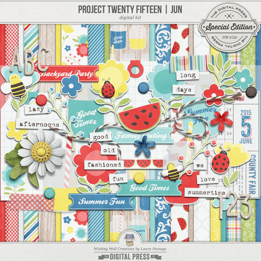 Project Twenty Fifteen | June Kit