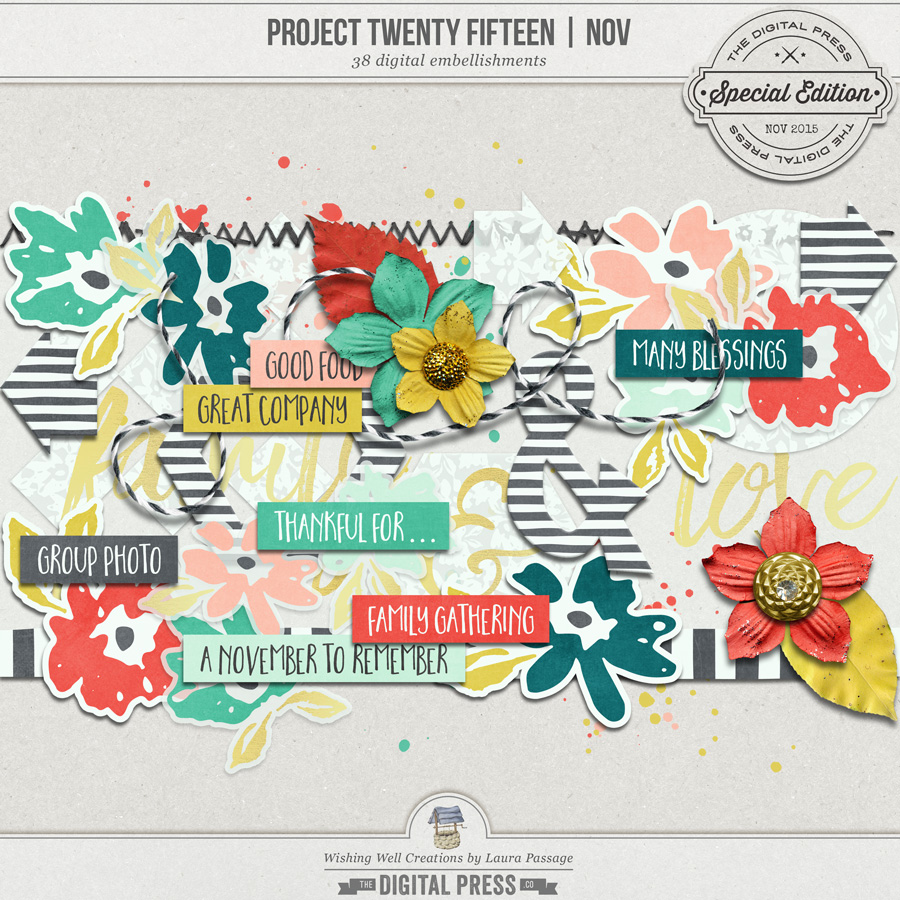 Project Twenty Fifteen | November Elements