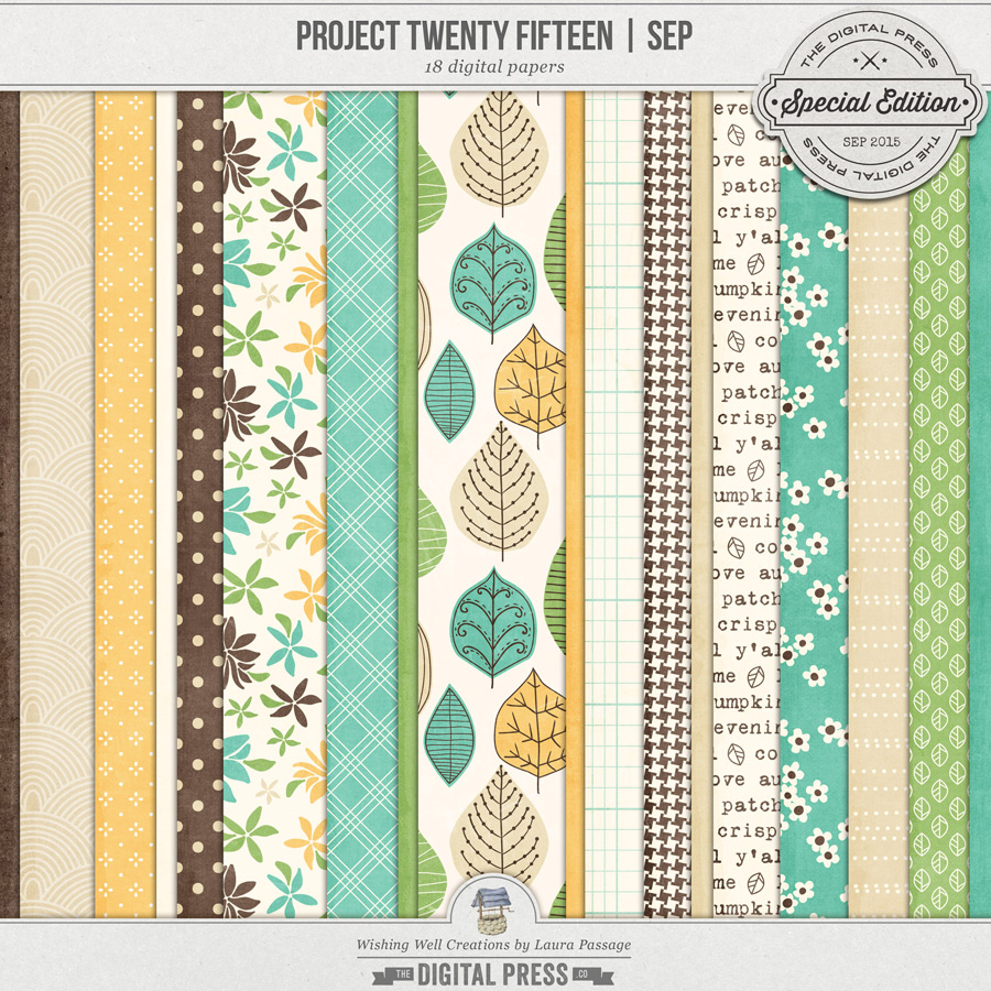 Project Twenty Fifteen | September Paper