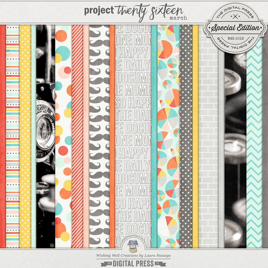 Project Twenty Sixteen | March Paper