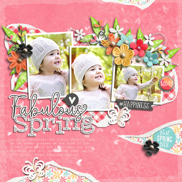 Torn Paper Play 01 Template