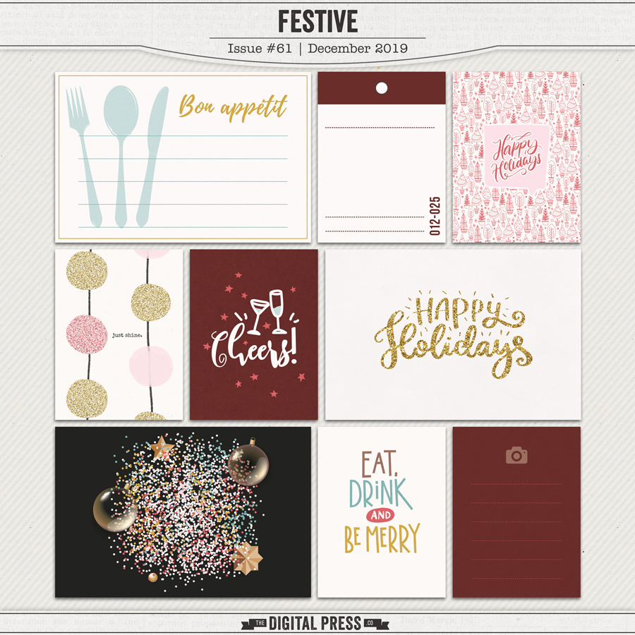 Festive | Pocket Cards