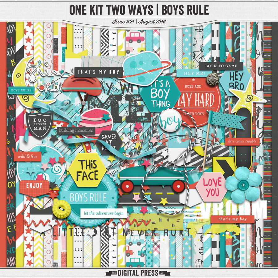 One Kit Two Ways | Boys Rule Kit