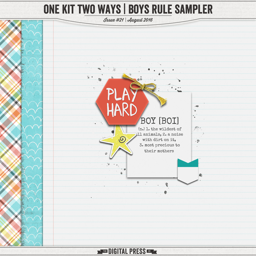 One Kit Two Ways | Boys Rule Sampler