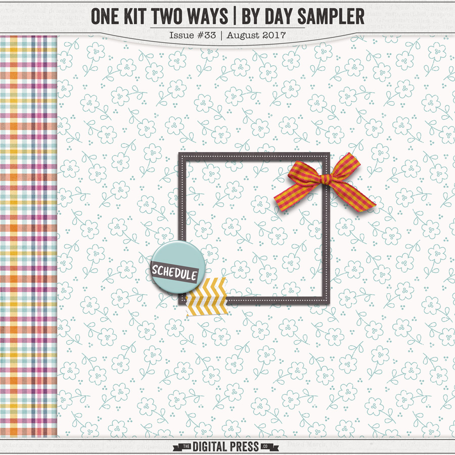 One Kit Two Ways | By Day Mini Kit Sampler