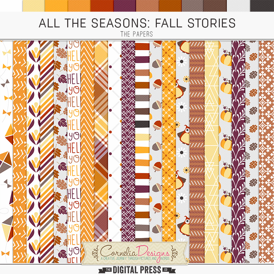 ALL THE SEASONS: FALL STORIES | PAPERS