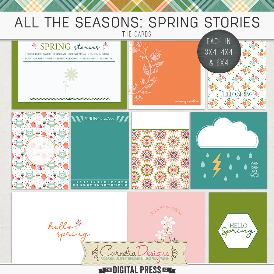 ALL THE SEASONS: SPRING STORIES | POCKET CARDS