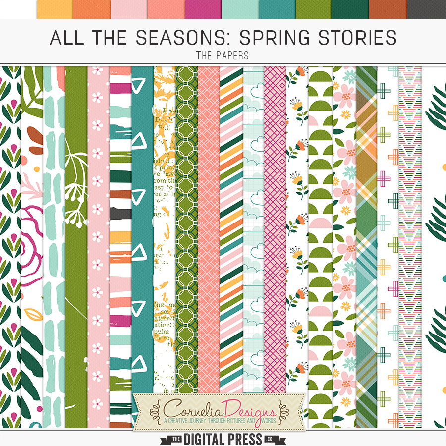 ALL THE SEASONS: SPRING STORIES | PAPERS