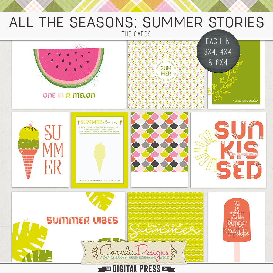 ALL THE SEASONS: SUMMER STORIES | POCKET CARDS