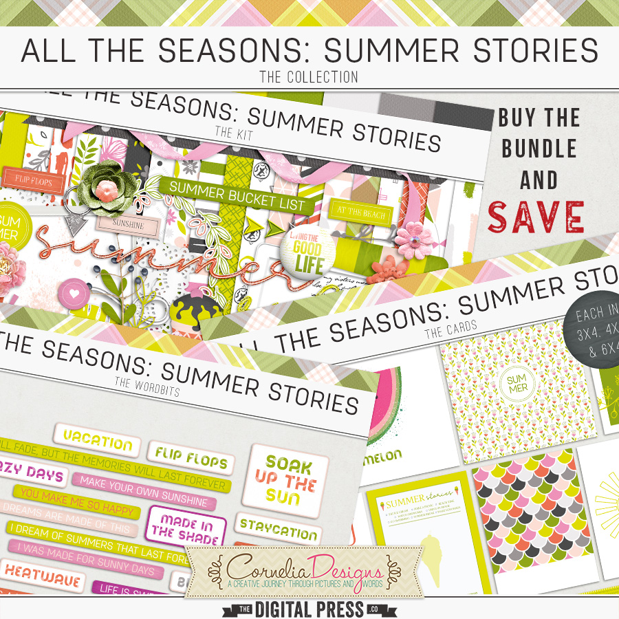 ALL THE SEASONS: SUMMER STORIES   COLLECTION