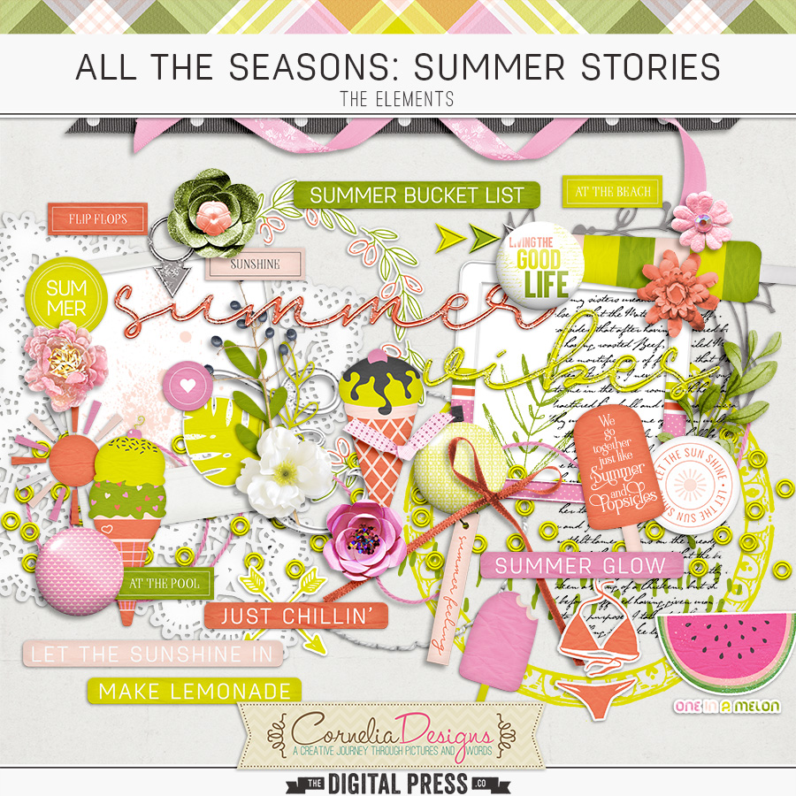 ALL THE SEASONS: SUMMER STORIES   ELEMENTS
