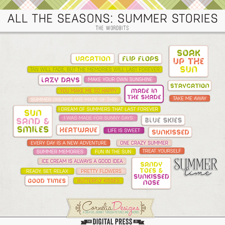 ALL THE SEASONS: SUMMER STORIES | WORDBITS