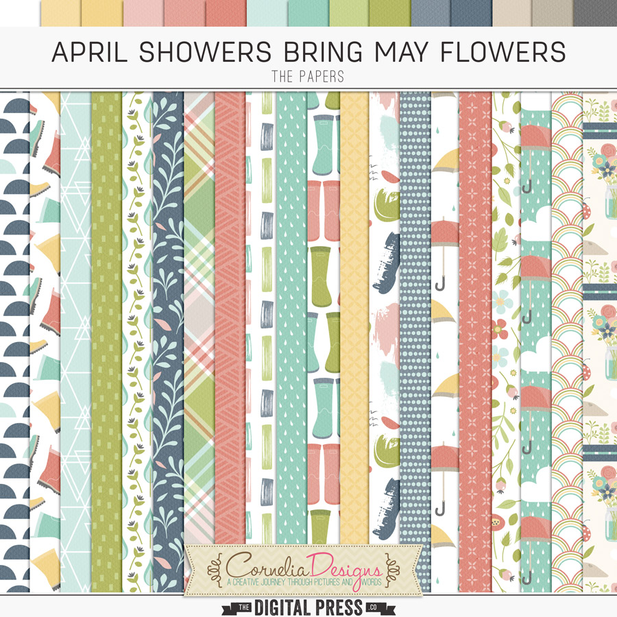 APRIL SHOWERS BRING MAY FLOWERS | PAPERS