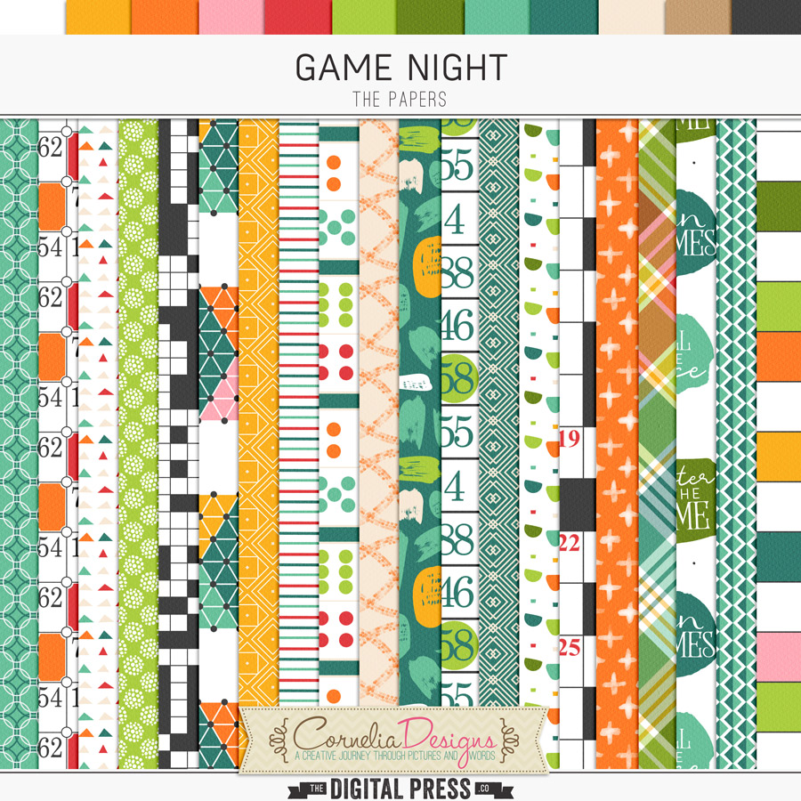 GAME NIGHT   PAPERS