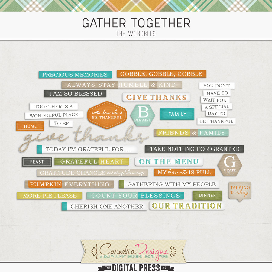 GATHER TOGETHER | WORDBITS