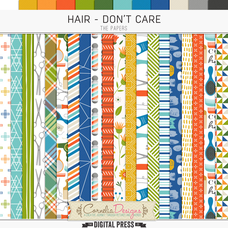 HAIR - DON'T CARE | PAPERS