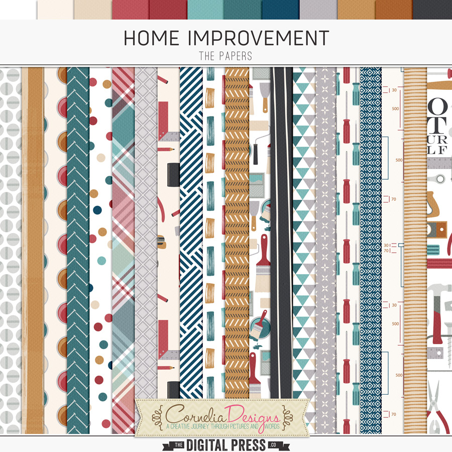 HOME IMPROVEMENTS   PAPERS