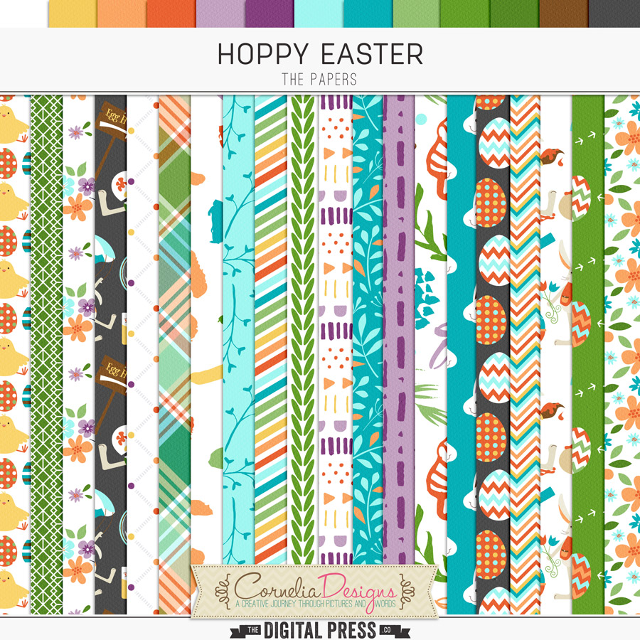 HOPPY EASTER   PAPERS