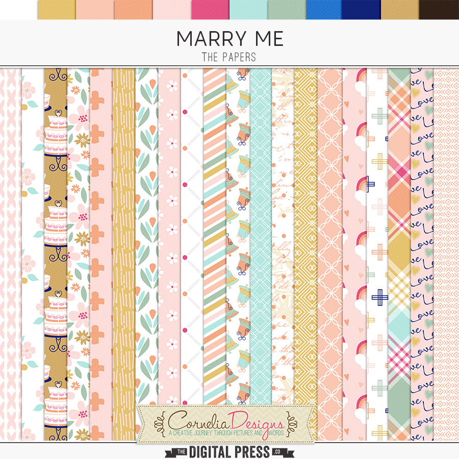 MARRY ME | PAPERS