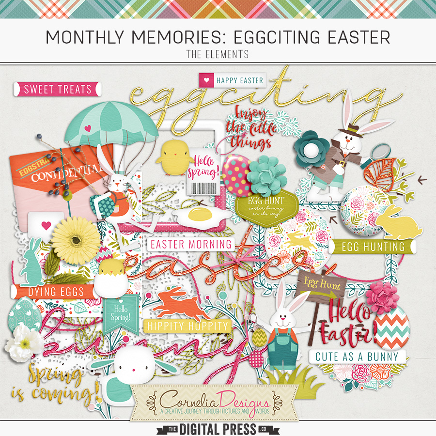 MONTHLY MEMORIES: EGGCITING EASTER| ELEMENTS