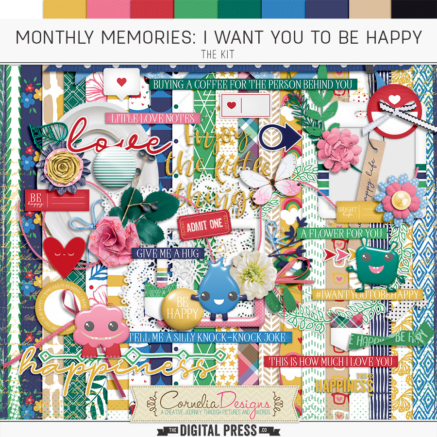 MONTHLY MEMORIES: I WANT YOU TO BE HAPPY| KIT