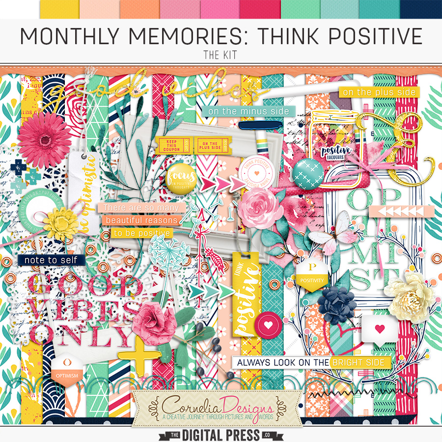 MONTHLY MEMORIES: THINK POSITIVE| KIT
