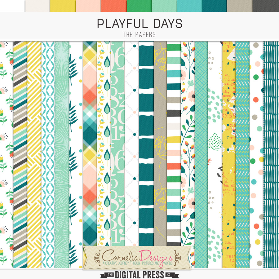 PLAYFUL DAYS | PAPERS