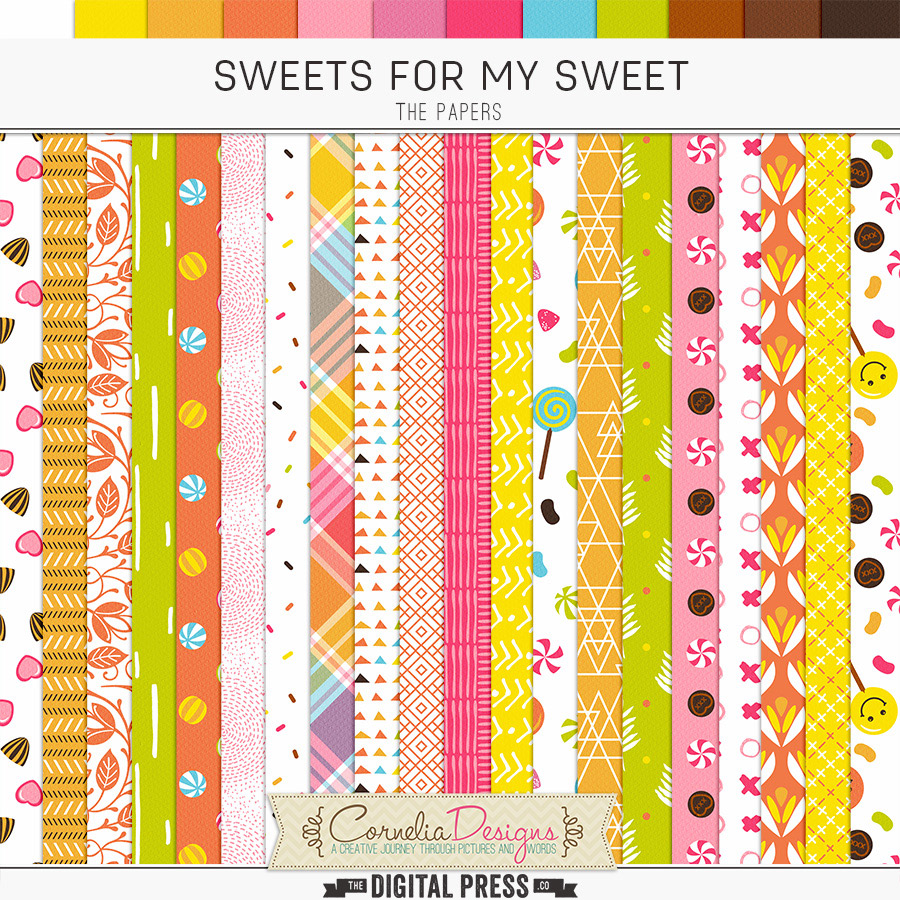 SWEETS FOR MY SWEET | PAPERS