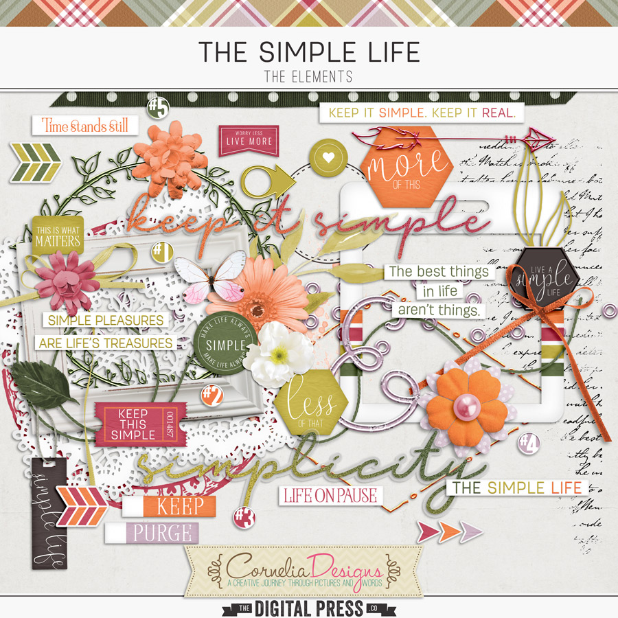 THE SIMPLE LIFE | ELEMENTS