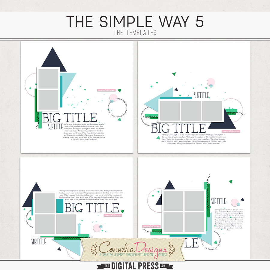 THE SIMPLE WAY 5   TEMPLATES