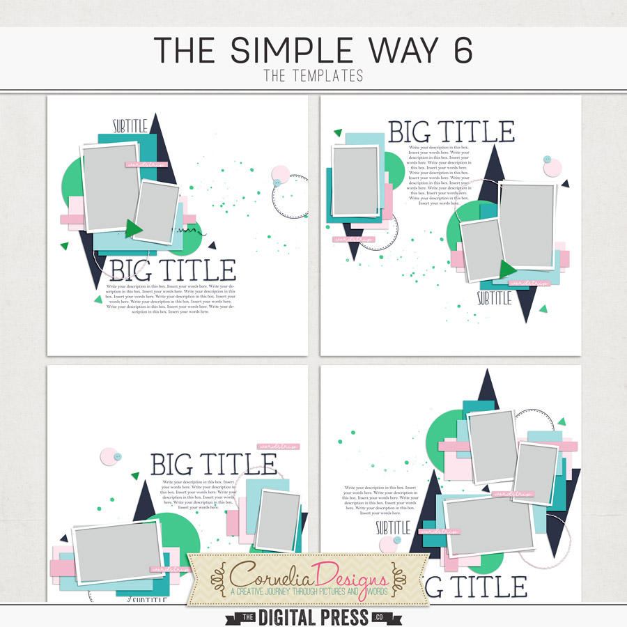 THE SIMPLE WAY 6 | TEMPLATES