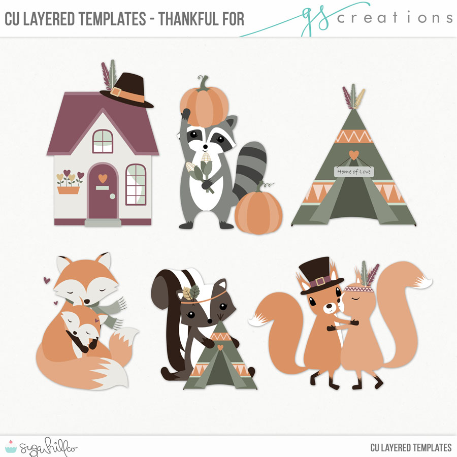 Thankful For Layered Templates (CU)