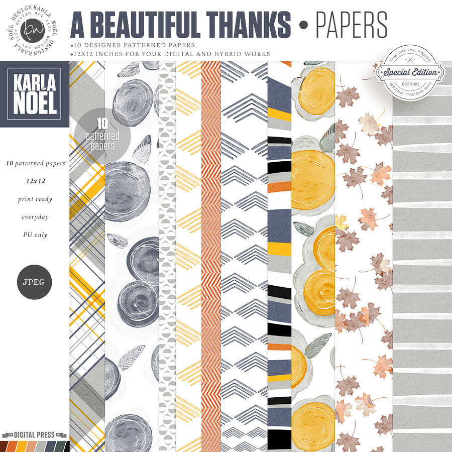 A Beautiful Thanks   Papers