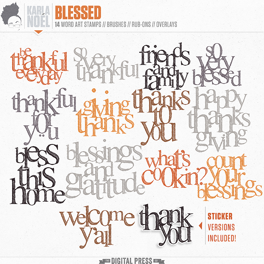 Blessed | word arts