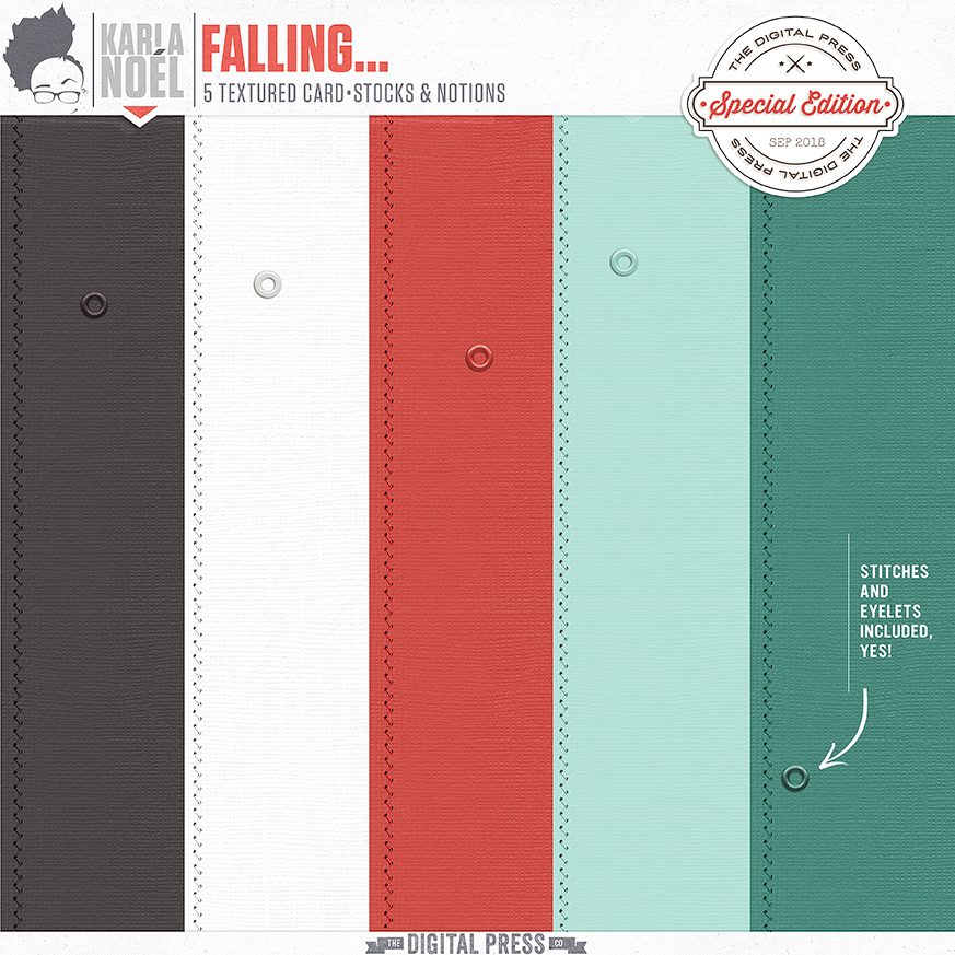 Falling... - card•stocks