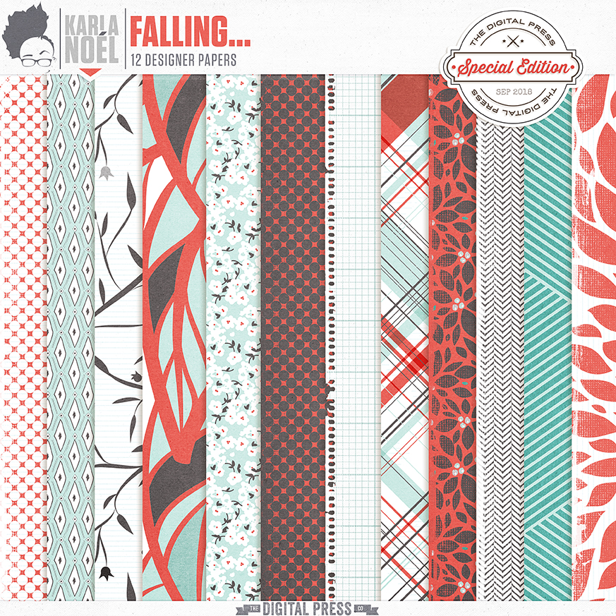 Falling... - papers