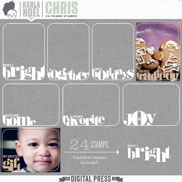 Holiday 2017 | Chris | frame stamps