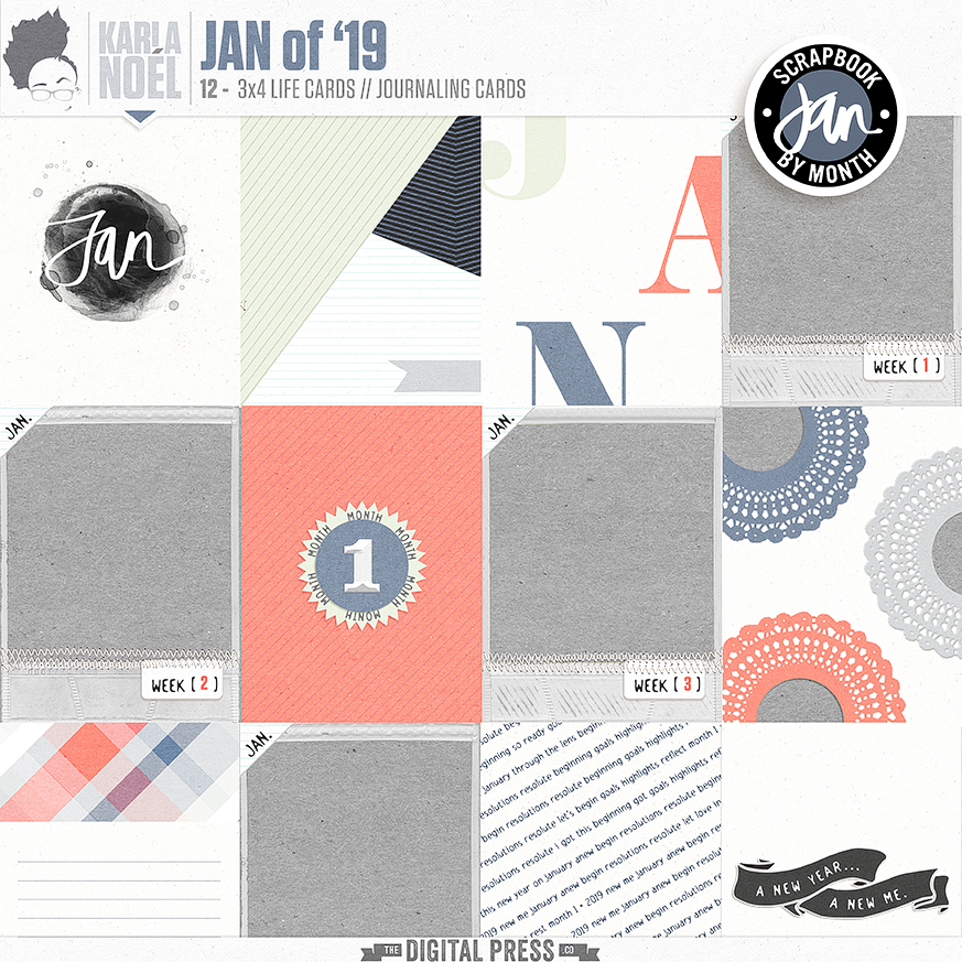 Jan of '19 | Life Cards