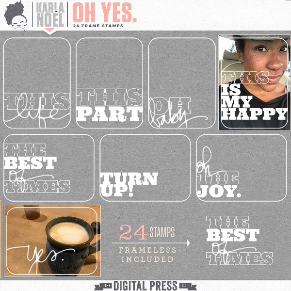Oh Yes. | frame stamps