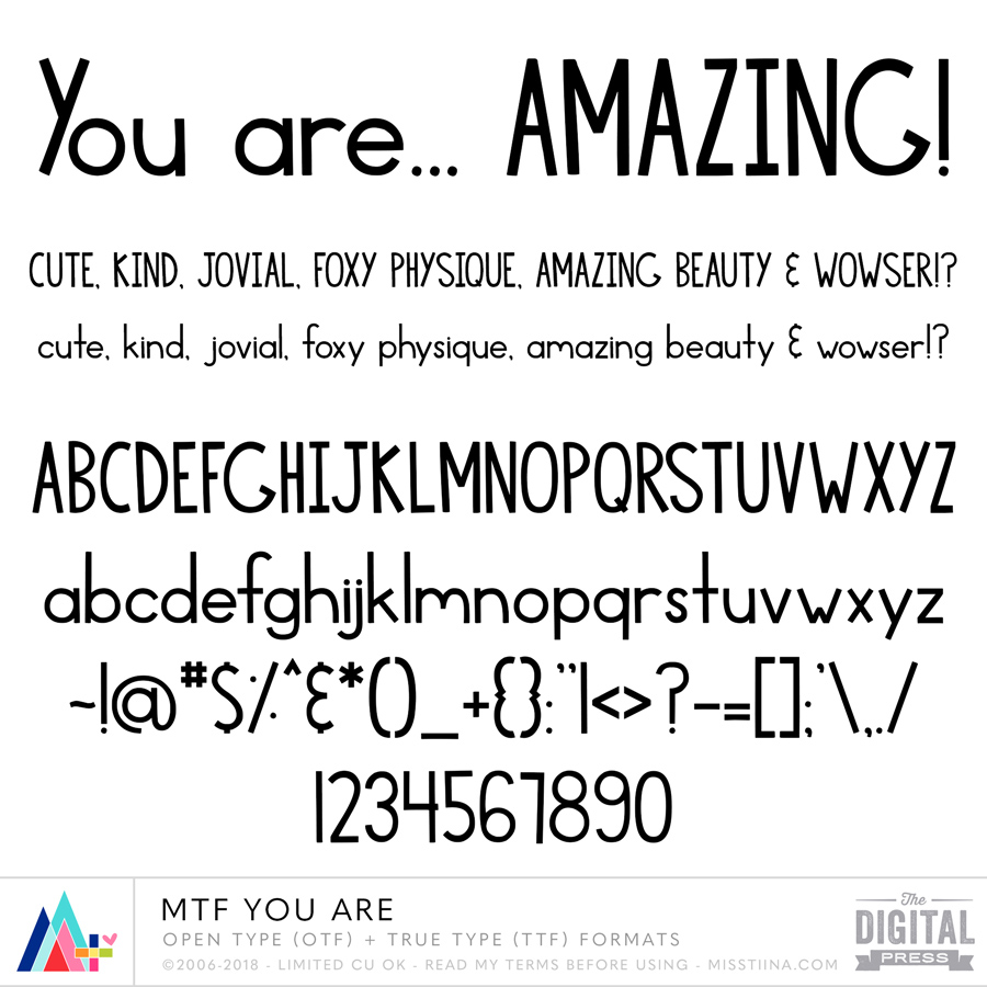 MTF You Are