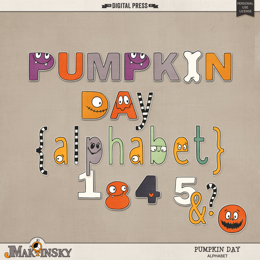 Pumpkin Day | Alphabet