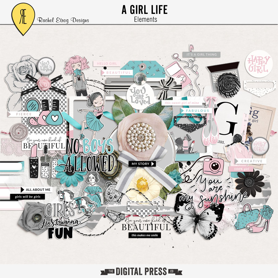A Girl Life | Elements