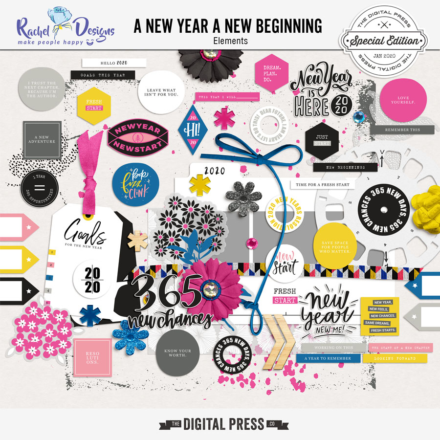 A New Year A New Beginning | Elements